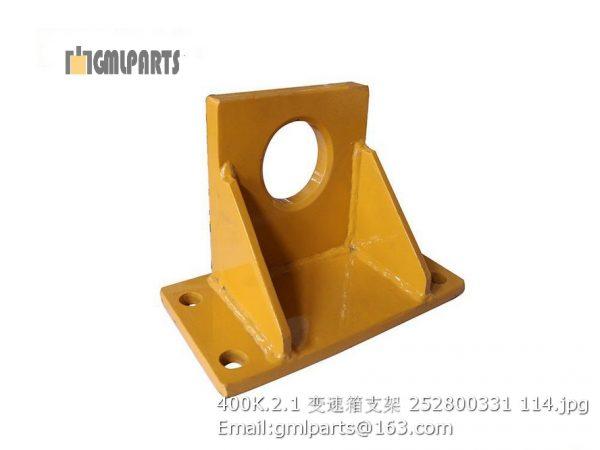 ,252800331 400K.2.1 Bracket of gearbox