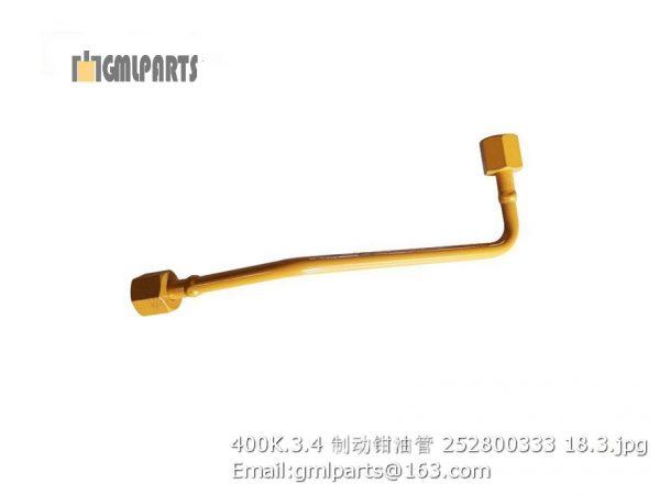 ,252800333 400K.3.4 Oil pipe