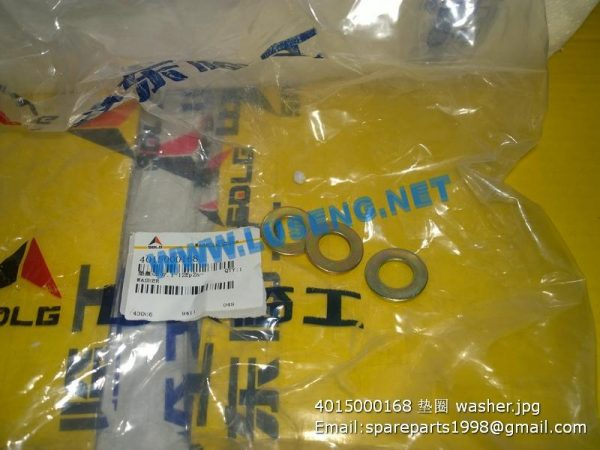 ,4015000168 washer sdlg spare parts