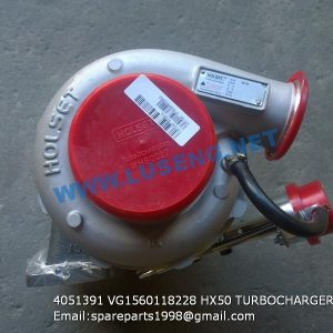 ,4051391 VG1560118228 HX50 TURBOCHARGER