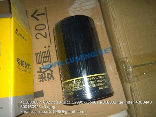 ,4110000677002 129907-55801 R010002 fuel filter 40C0440 800150923