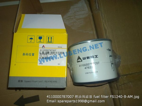 ,4110000787007 fuel filter FS1240-B-AM