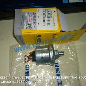 ,4130000860 360-081-037-008 PRESSURE TRANSDUCER