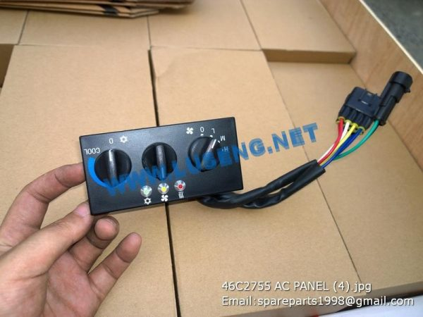 LIUGONG SPARE PARTS,46C2755,A/C PANEL,46C2755 A/C PANEL LIUGONG SPARE PARTS