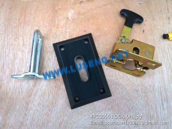 LIUGONG SPARE PARTS,47C0066,door lock,47C0066 door lock LIUGONG SPARE PARTS