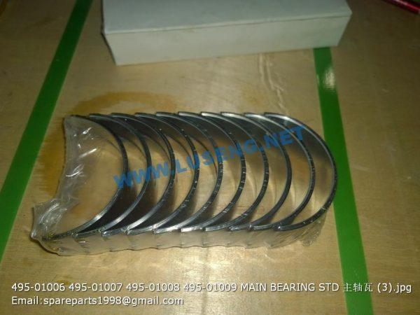 ,495-01006 495-01007 495-01008 495-01009 MAIN BEARING STD weichai huafeng