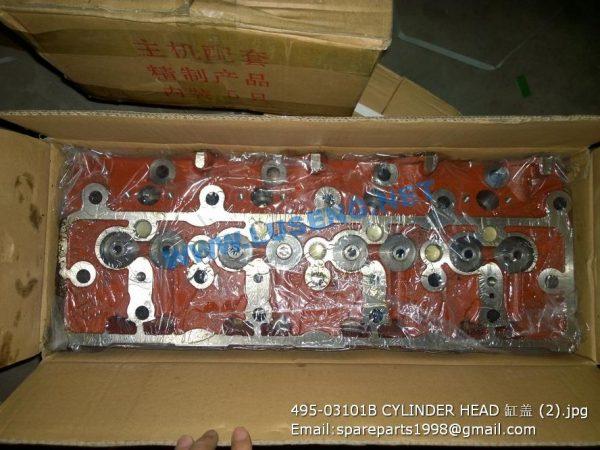 ,495-03101B CYLINDER HEAD