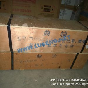 ,495-05007W CRANKSHAFT huafeng 495 spare parts