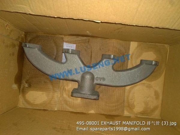 ,495-08001 EXHAUST MANIFOLD