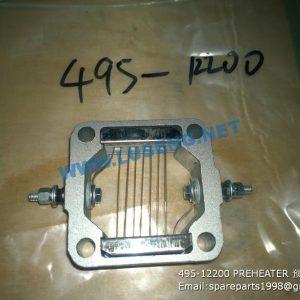 ,495-12200 PREHEATER 预热器