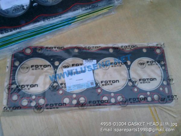 ,495B-01004 GASKET HEAD