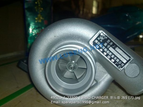 ,495ZD-1-23500 TURBO CHARGER J65