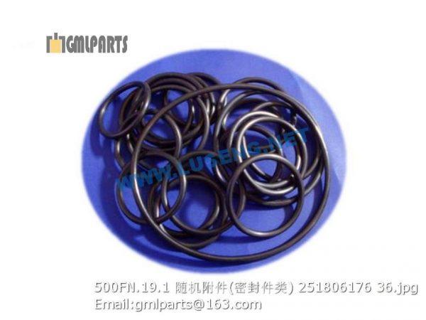 ,251806176 500FN.19.1 O-RINGS LW500FN WHEEL LOADER