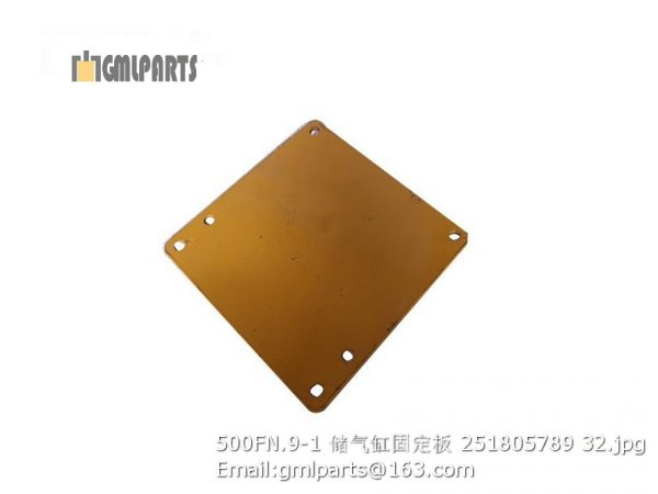 ,251805789 500FN.9-1 Plate XCMG LW500FN