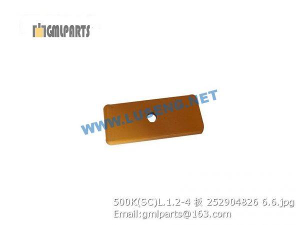 ,252904826 500K(SC)L.1.2-4 PLATE