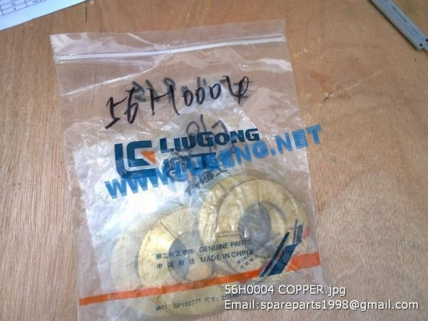 LIUGONG SPARE PARTS,56H0004,WASHER,56H0004 WASHER LIUGONG SPARE PARTS CLG816