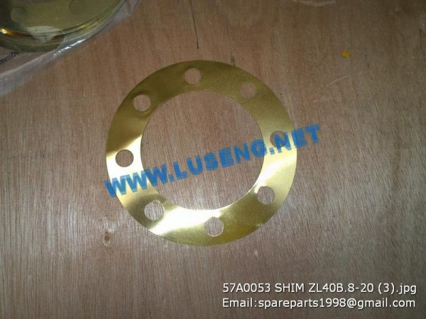 LIUGONG SPARE PARTS,57A0053,GASKET,57A0053 SHIM LIUGONG CLG835 CLG836 SPARE PARTS ZL40B.8-20