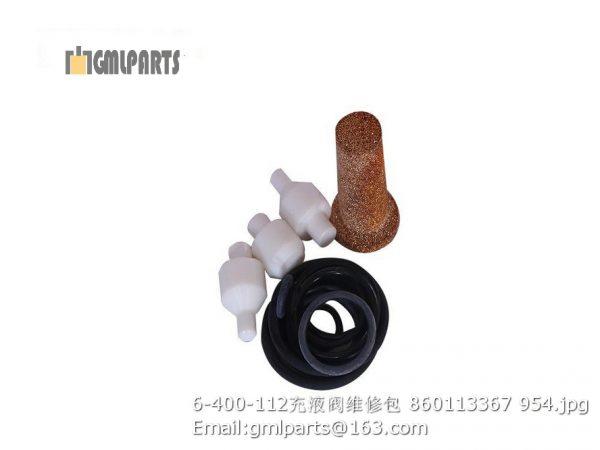 ,6-400-112 charge vavle repair kits 860113367