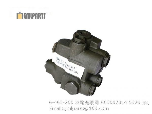 ,803007014 6-463-200 charge valve