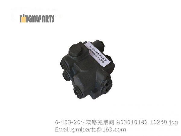 ,803010182 6-463-204 charge valve lw700k