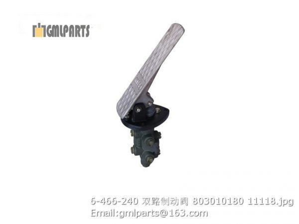 ,6-466-240 brake valve 803010180