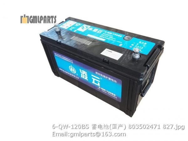 ,803502471 Battery 6-QW-120BS
