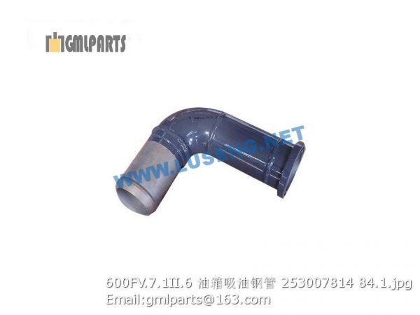 ,253007814 600FV.7.1II.6 TUBE XCMG LW600FV WHEEL LOADER