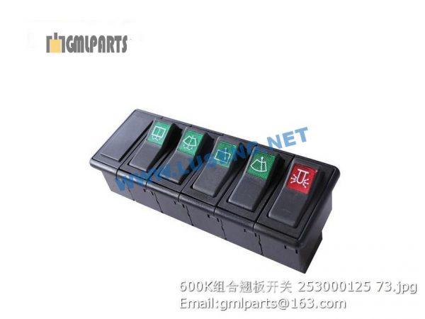 ,253000125 Switches XCMG LW600K LW700K LW800K