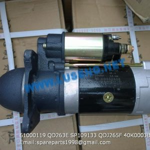 ,61000119 QD263E SP109133 QDJ265F 40K0003B starter motor yto spare parts