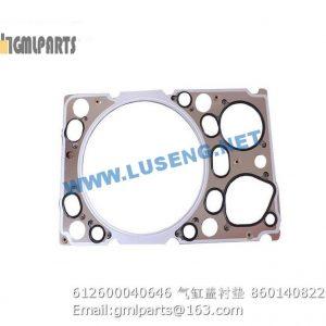 ,612600040646 Cylinder Head Gasket 860140822