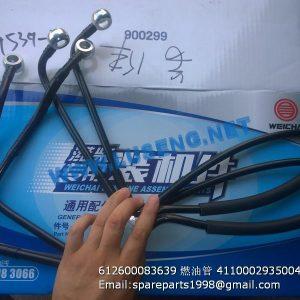 ,612600083639 4110002935004 oil hose
