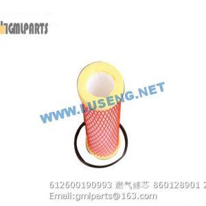 ,612600190993 Gas Filter element 860128901
