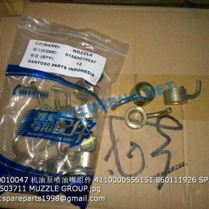 ,61560010047 4110000556151 860111926 SP101982 W010503711 Fuel injection nozzle