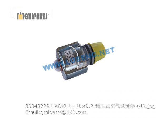,803407291 XGKL11-10×0.2 filter