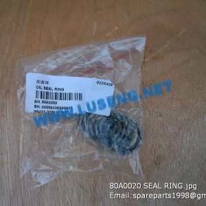 LIUGONG SPARE PARTS,80A0020,SEAL RING,80A0020 SEAL RING LIUGONG SPARE PARTS BS305-38