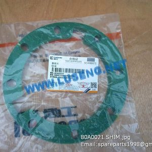 LIUGONG SPARE PARTS,80A0021,GASKET,80A0021 GASKET LIUGONG SPARE PARTS