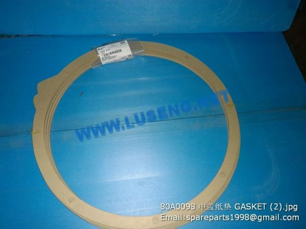 LIUGONG SPARE PARTS,80A0098,GASKET,80A0098 GASKET LIUGONG SPARE PARTS 80A0098