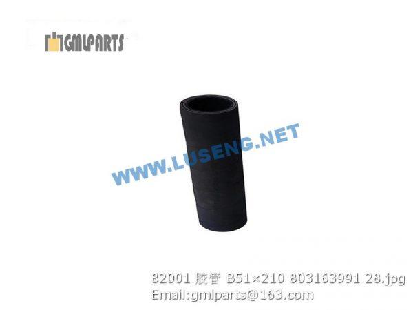 ,803163991 82001 HOSE B51×210