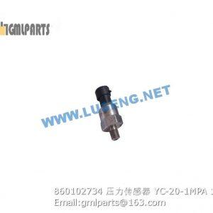 ,860102734 PRESSURE SENSOR XCMG YC-20-1MPA