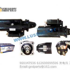 ,860147070 612600090340 motor starter