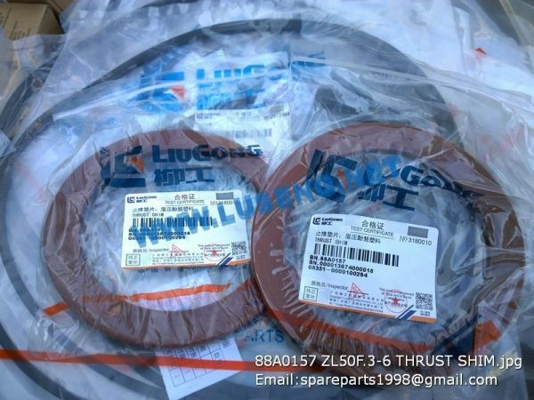 LIUGONG SPARE PARTS,88A0157,THRUST SHIM,88A0157 THRUST SHIM LIUGONG SPARE PARTS ZL50F.3-6