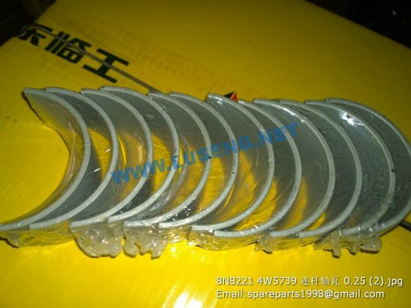 ,8N8221 4W5739 ROD BEARING 0.25 SHANGCHAI SPARE PARTS