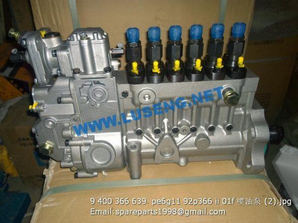 ,9 400 366 639  pe6g11 92p366 ii 01f shangchai injection pump