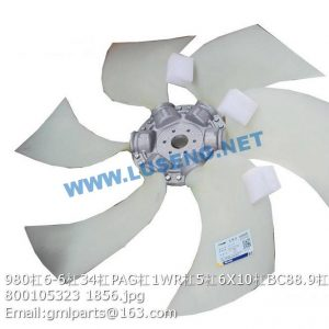 ,800105323 980/6-6/34/PAG/1WR/5/6X10/BC88.9/A FAN XCMG