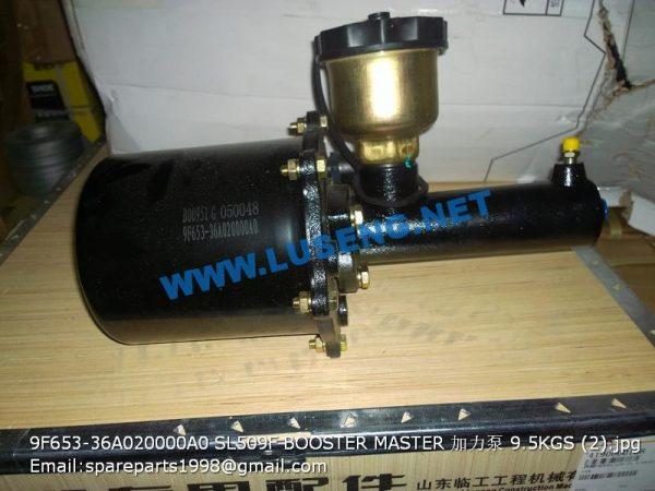 ,9F653-36A020000A0 SL509F BOOSTER MASTER 9F550-36B010000A0