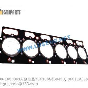 ,860118388 B3000-1003001A CYLINDER HEAD GASKET YC6108G B8400