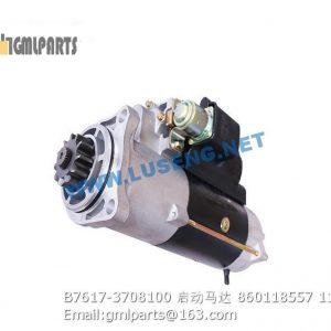 ,860118557 B7617-3708100 STARTER MOTOR