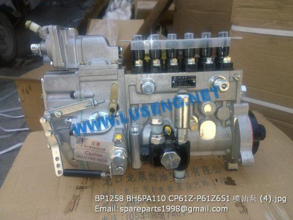 ,BP1258 BH6PA110 CP61Z-P61Z651 W014206440 injection pump lonbeng shangchai