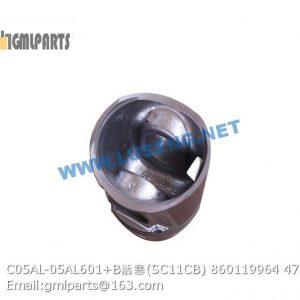 ,860119964 C05AL-05AL601+B piston
