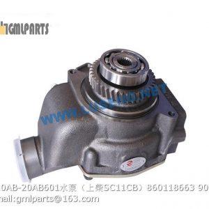 ,860118663 C20AB-20AB601 WATER PUMP